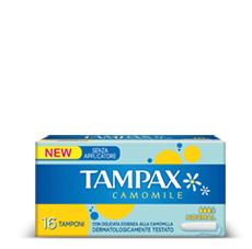 Assorbente interno Tampax Camomille