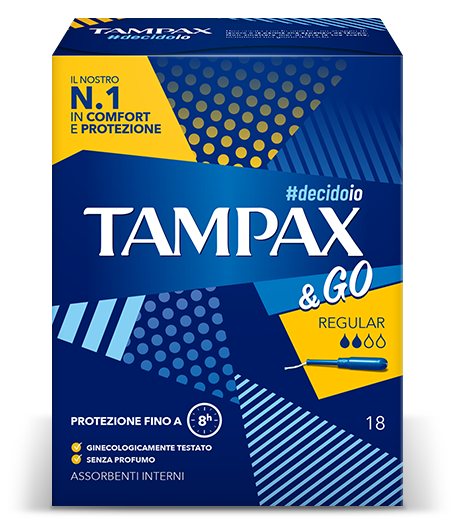 Tampone Tampax & Go