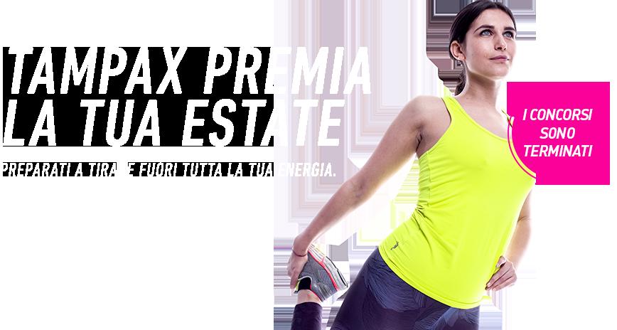 TAMPAX PREMIA LA TUA ESTATE